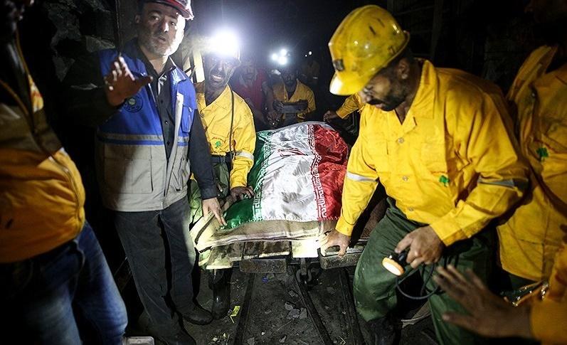 جسد آخرین معدنچی در معدن آزادشهر کشف شد/تعداد کشتهشدگان به ۴۳ نفر رسید