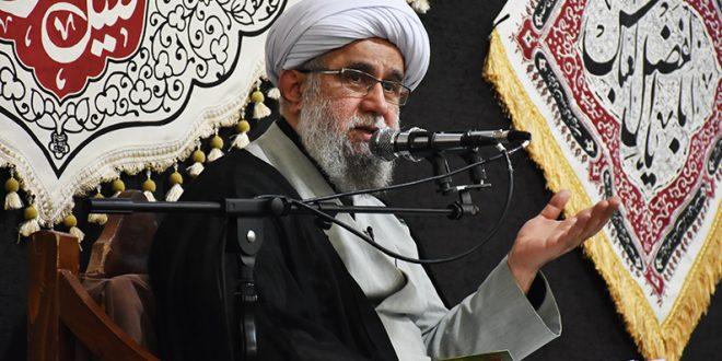 برگزاری مراسم دهه اول محرم با سخنرانی آیت الله رمضانی در رشت