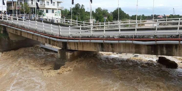 هشدار برای احتمال سیلابی شدن رودخانه های استان