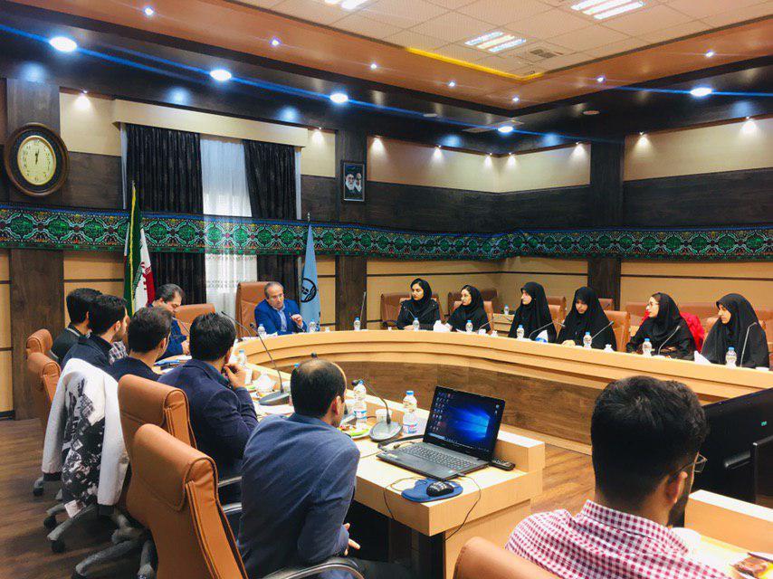 نشست رئیس دانشگاه علوم پزشکی گیلان با مسئولان تشکلهای دانشجویی برگزار شد