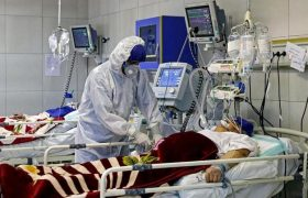 تعداد بیماران کرونایی بستری در بیمارستان های گیلان افزایش یافت