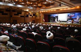 گزارش تصویری/ گردهمایی مبلغان، مداحان و مدیران هیئات مذهبی در رشت