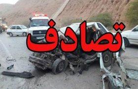 تصادفی با یک کشته و سه مصدوم در گیلان