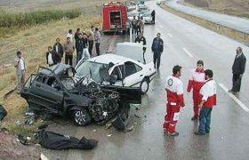 برخورد مرگبار ۲ خودروی سواری