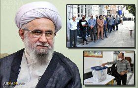 قدردانی آیتالله رمضانی از حضور پرشور مردم گیلان در انتخابات ۱۴۰۰