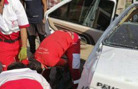 تصادف در جاده صومعه سرا ۴ مصدوم برجای گذاشت