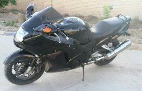 موتورسیکلت ۴۰۰ سیسی قاچاق در توقیف پلیس