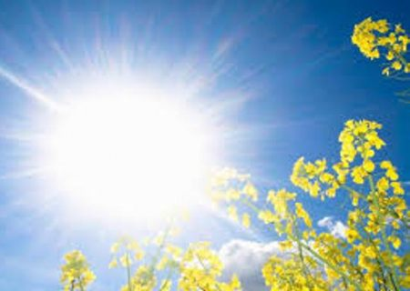 دمای هوای گیلان از فردا افزایش می یابد