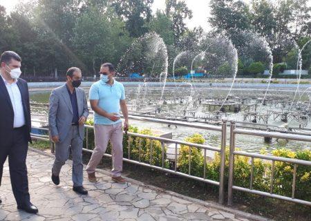 افتتاح فاز تکمیلی آبنمای موزیکال بوستان ملت در عید سعید غدیر