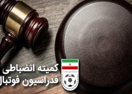 تیم فوتبال مقاومت بسیج آستارا محکوم شد