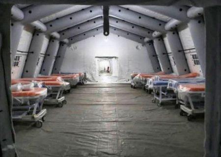 راهاندازی بیمارستان صحرایی رشت تا پنجشنبه جاری