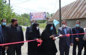 پروژه عمران روستایی خمام به بهره برداری رسید