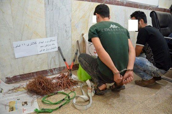 دستگیری سارقان مامورنما در صومعه سرا