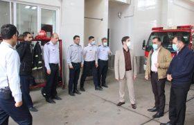 بهرهبرداری از ایستگاه ۱۵ آتشنشانی تا پایان سال جاری